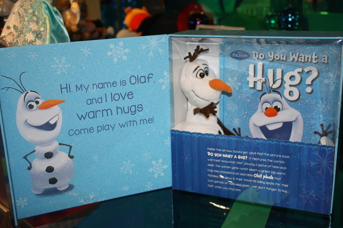 Hide-and-Hug Olaf - Open View
