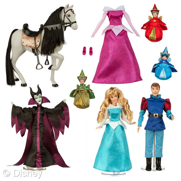 Disney Holiday Preview 2014 - Sleeping Beauty Doll Set 2