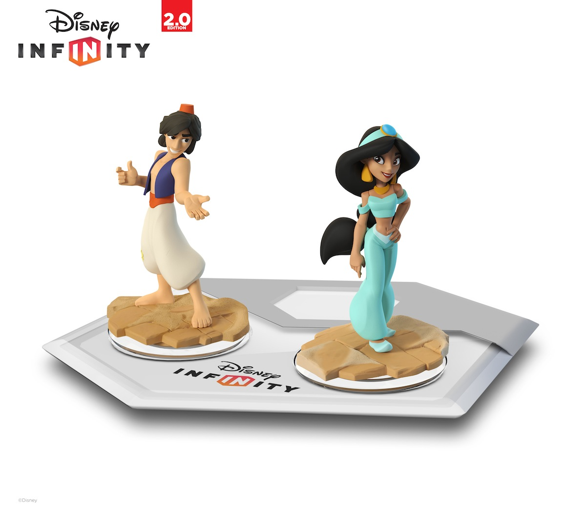 Disney Infinity 2 - Aladdin and Jasmine Figures