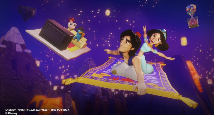 Disney Infinity 2 - Aladdin and Jasmine Toy Box 1