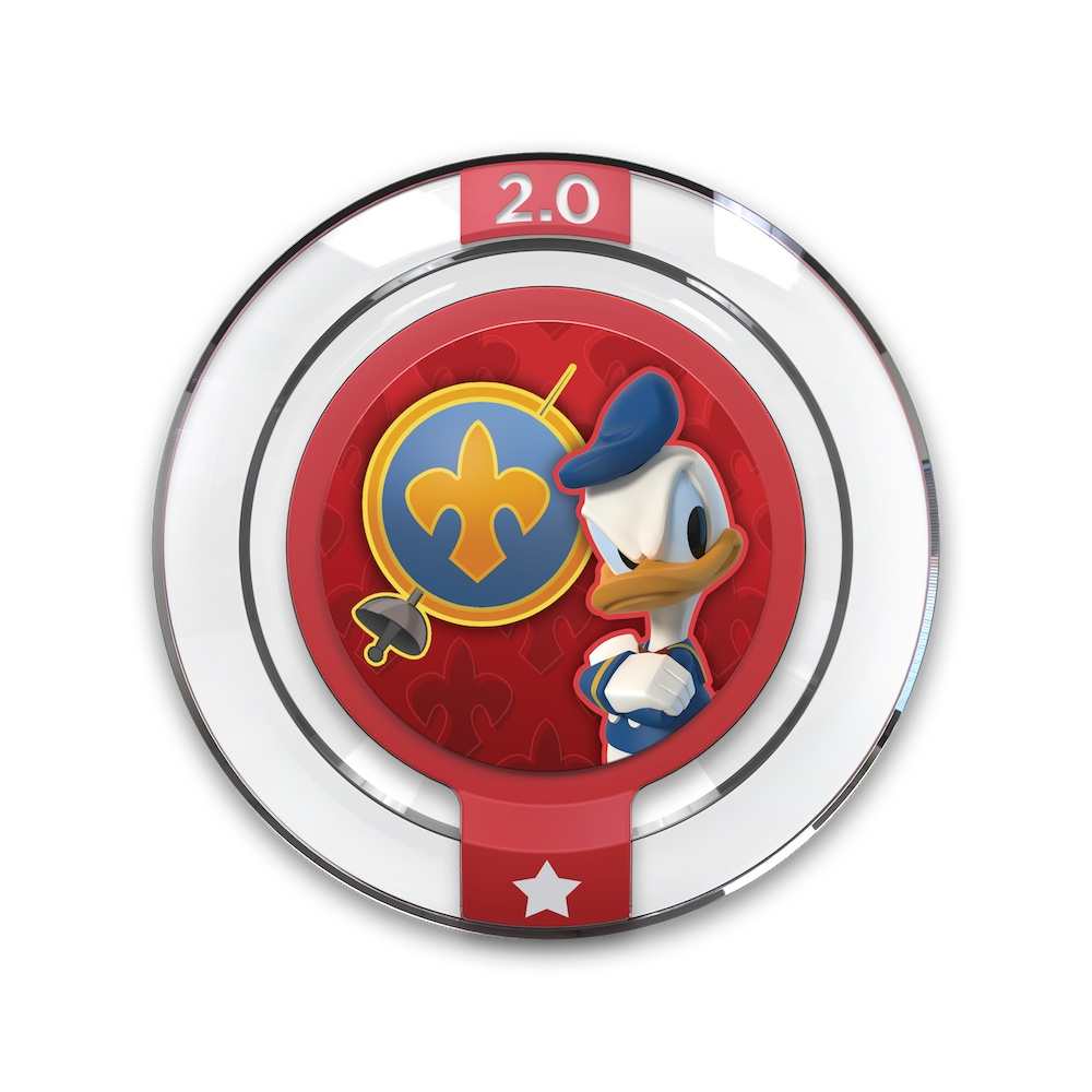 Disney Infinity 2 - Donald All For One Power Disc