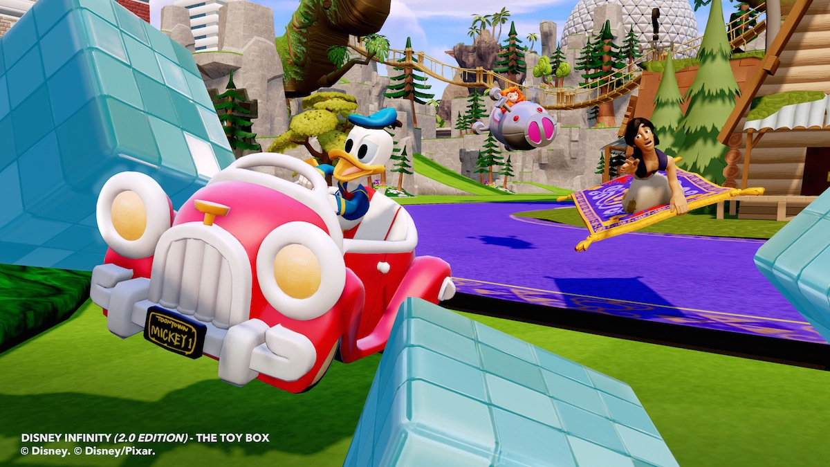 Disney Infinity 2 - Donald Toy Box 4