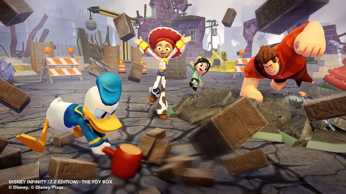 Disney Infinity 2 - Donald Toy Box 5
