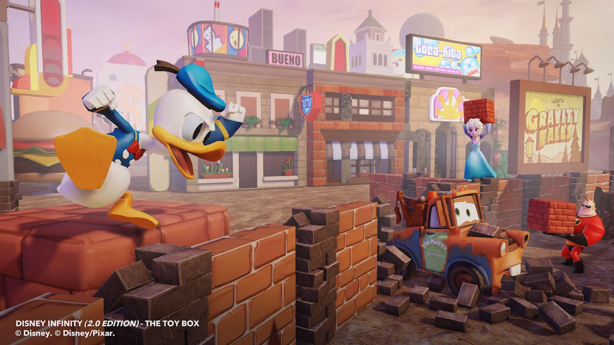 Disney Infinity 2 - Donald Toy Box 9