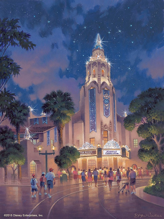 Disneyland 60th Anniversary - Carthay Circle Theatre