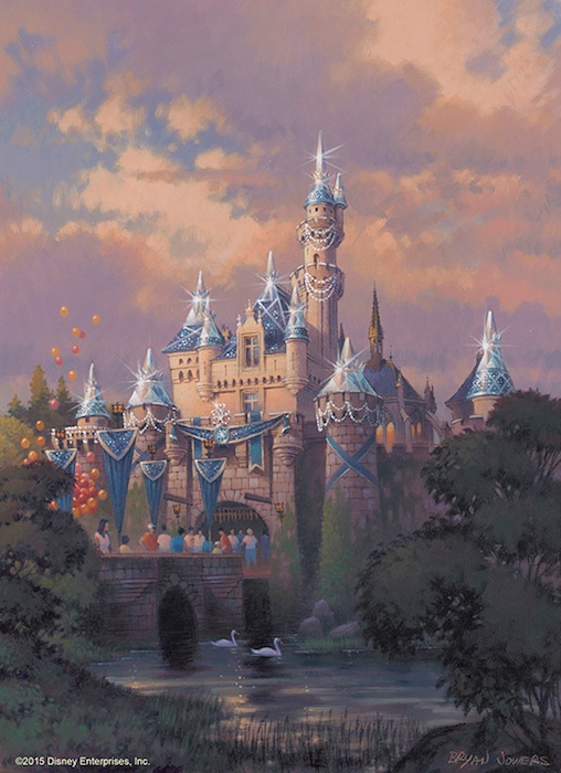 Disneyland 60th Anniversary - Sleeping Beauty Castle