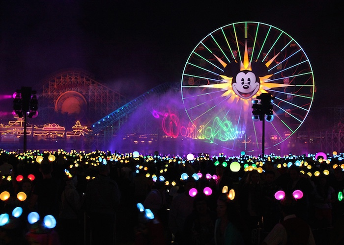 Disneyland s 60th anniversary celebration includes new parade fireworks show the disney times - Color of th anniversary ...