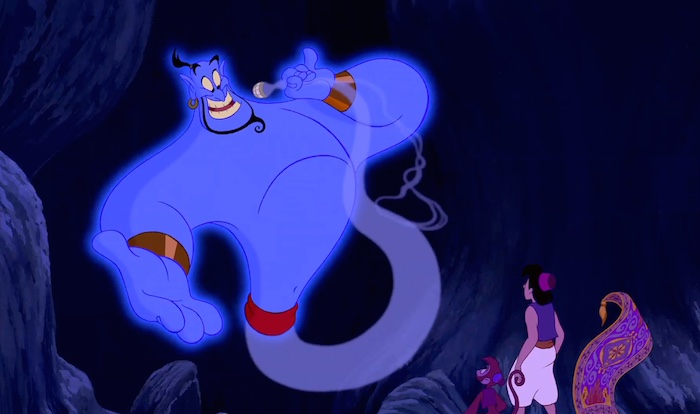 Aladdin - Genie and Aladdin